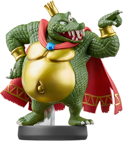 King K. Rool (Super Smash Bros. Series) Amiibo