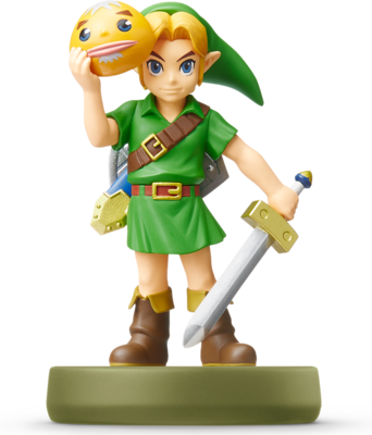 Link - Majora's Mask (The Legend of Zelda Series) Amiibo