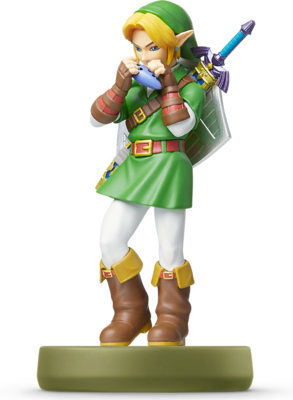 Link - Ocarina of Time (The Legend of Zelda Series) Amiibo