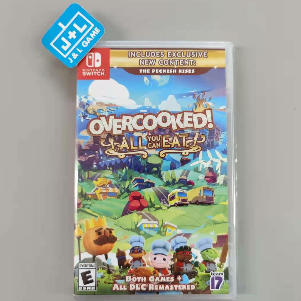 Overcooked! All You Can Eat - Nintendo Switch Front Cover