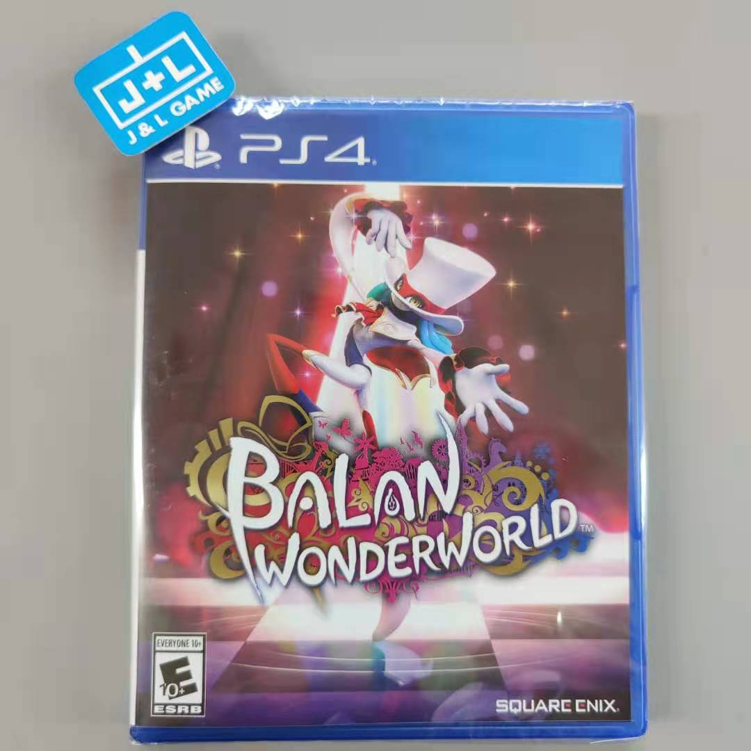 Balan Wonderworld - PlayStation 4 Box Cover