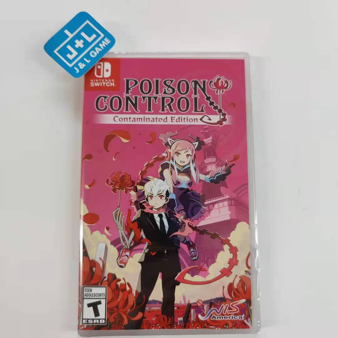 Poison Control: Contaminated Edition - Nintendo Switch Front Cover