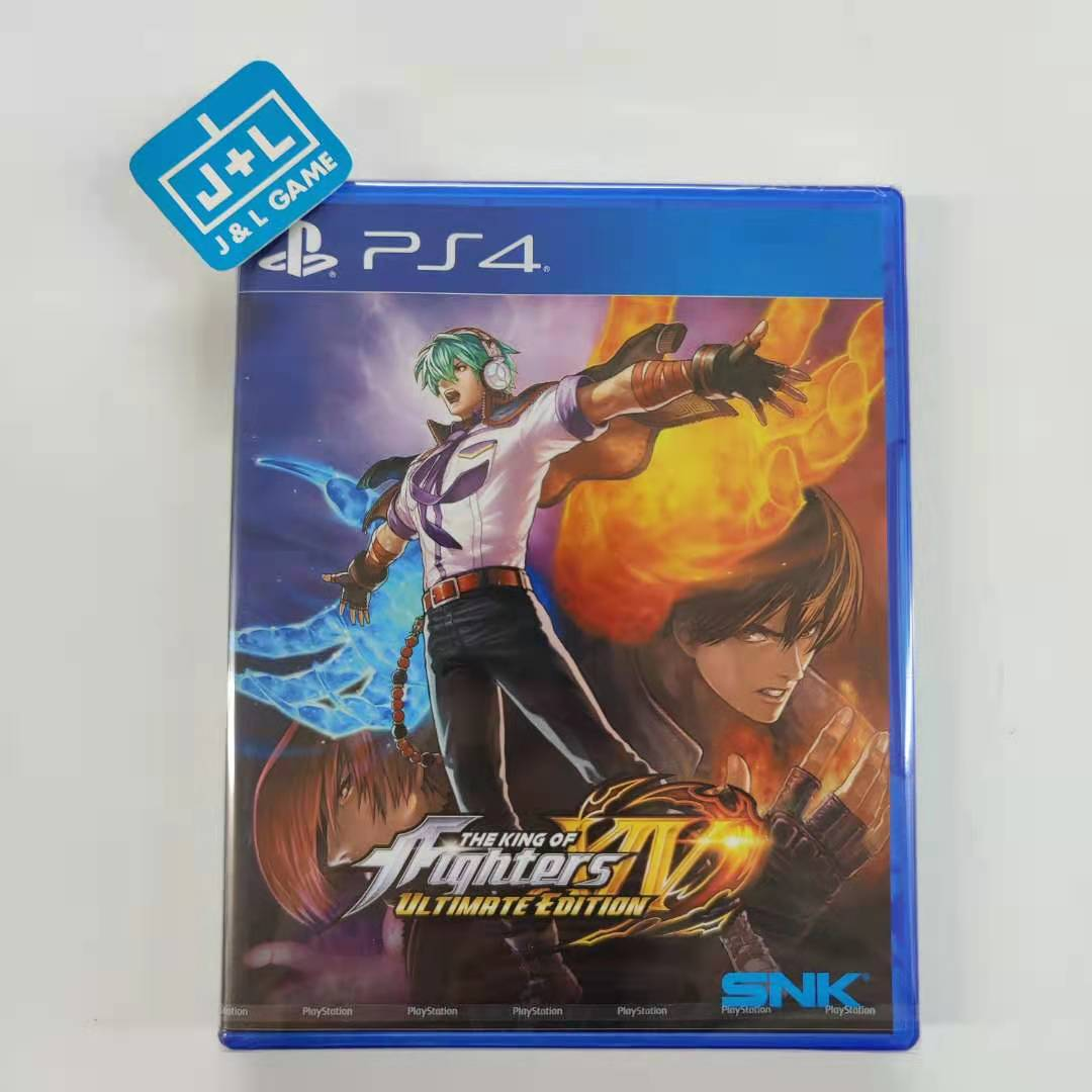 THE KING OF FIGHTERS XIV: ULTIMATE EDITION - PlayStation 4 (European Release) Front Cover