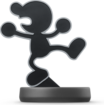 Mr. Game & Watch (Super Smash Bros. Series) Amiibo