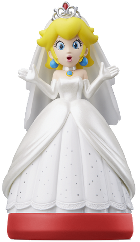 Peach™ Wedding Outfit (Super Mario Odyssey Series) Amiibo