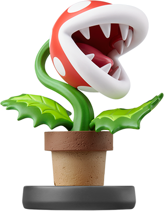 Piranha Plant (Super Smash Bros. Series) Amiibo