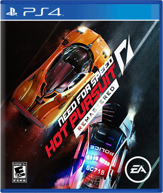 Need for Speed Hot Pursuit Remastered - PS4 Generic Box Art