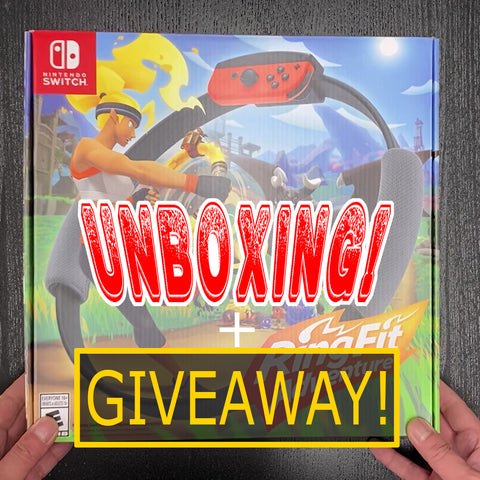 UNBOXED GIVEAWAY! Ring Fit Adventure - Nintendo Switch