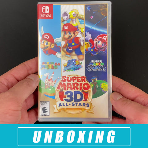 Super Mario 3D All Stars - Unbox Nintendo Switch