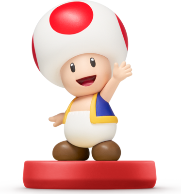 Toad™ (Super Mario Series) Amiibo