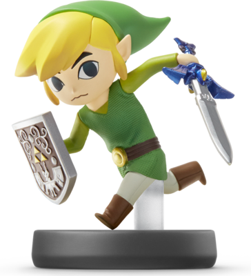 Toon Link (Super Smash Bros. Series) Amiibo