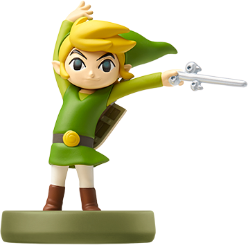 Toon Link - The Wind Waker (The Legend of Zelda Series) Amiibo