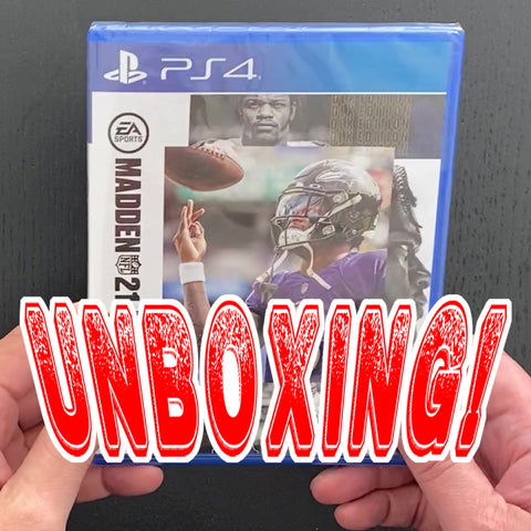 Madden 21 Unboxing