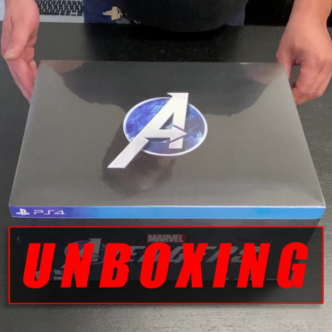 UNBOXING Marvel's Avengers: Earth's Mightiest Edition - PlayStation 4