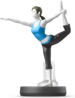 Wii Fit Trainer (Super Smash Bros. Series) Amiibo