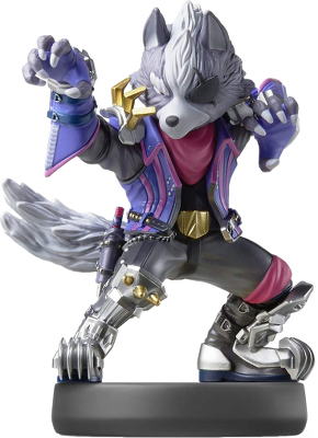 Wolf (Super Smash Bros. Series) Amiibo