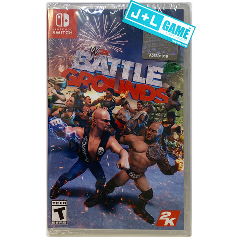 WWE 2K Battlegrounds - Nintendo Switch Standard Edition Front Cover
