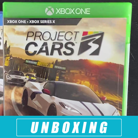 Project CARS 3 - Unboxing - Xbox One