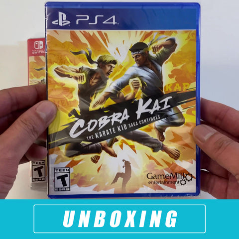 Cobra Kai: Karate Kid Saga Unboxed - PS4