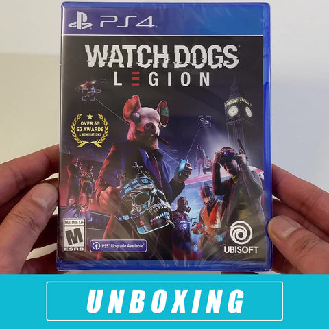 Watch Dogs Legion Unboxed - PlayStation 4 Standard Edition