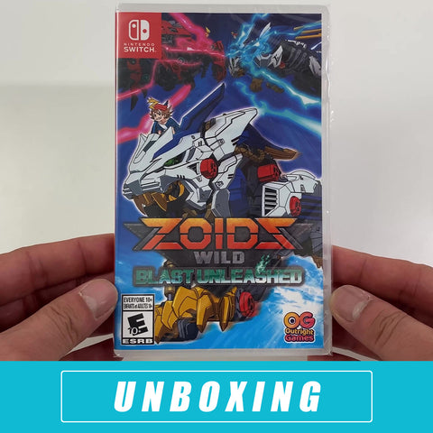 Zoids Wild: Blast Unleashed Unboxed - Nintendo Switch