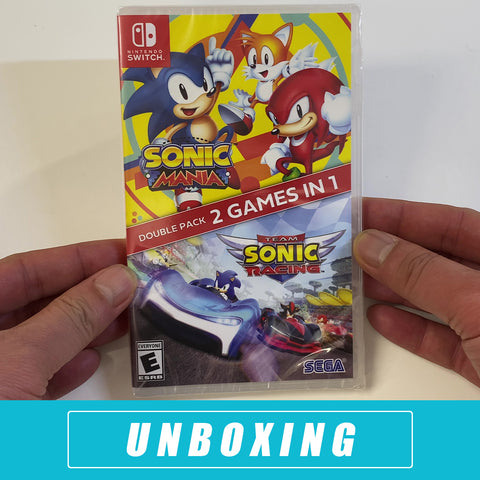 Sonic Mania + Team Sonic Racing Double Pack Unboxed - Nintendo Switch
