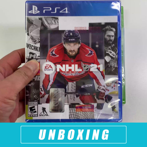 NHL 21 Unboxing for the PS4