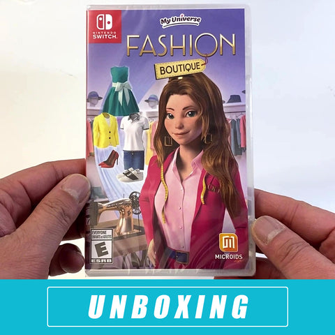 My Universe - Fashion Boutique Unboxed - Nintendo Switch