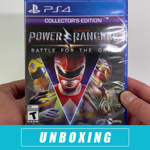 Power Rangers: Battle for the Grid Collector's Edition Unboxed - PlayStation 4