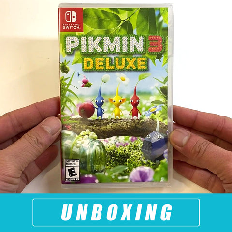 Pikmin 3 Deluxe Unboxed - Nintendo Switch