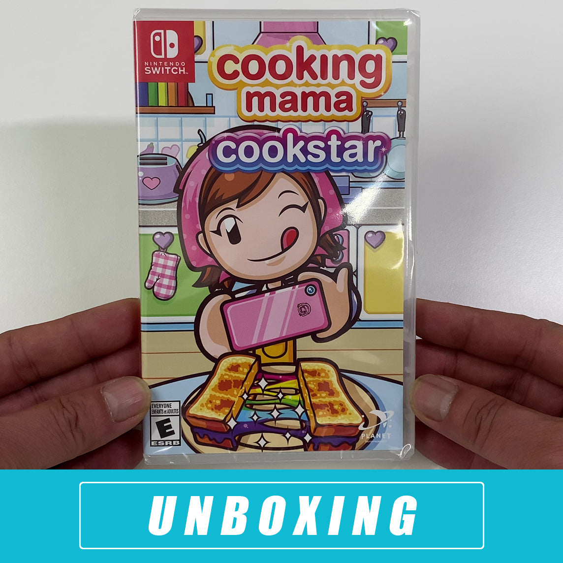 Cooking Mama: Cookstar 2020 Unboxing - Nintendo Switch
