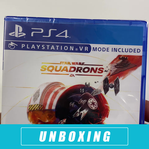 Star Wars: Squadrons Unboxing - PlayStation 4