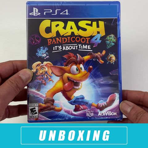 Crash 4: It's About Time Unboxing - PS 4