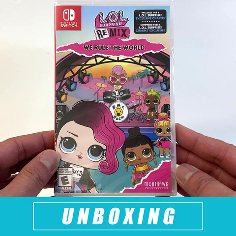 L.O.L Surprise! Remix: We Rule The World Unboxed - Nintendo Switch