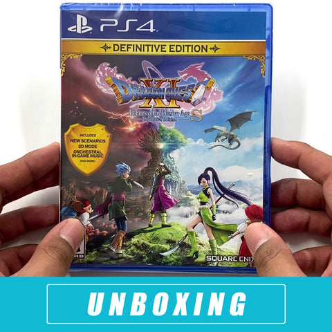 Dragon Quest XI S: Echoes of An Elusive Age - Definitive Edition Unboxed -  PlayStation 4