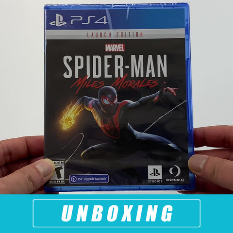 Marvel's Spider-Man: Miles Morales Unboxed - PlayStation 4