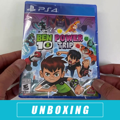 Ben 10 Power Trip Unboxing - PlayStation 4