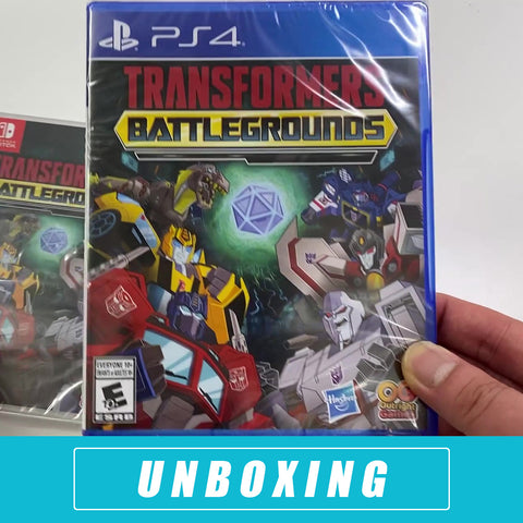 Transformers: Battlegrounds - Unboxed - PlayStation 4
