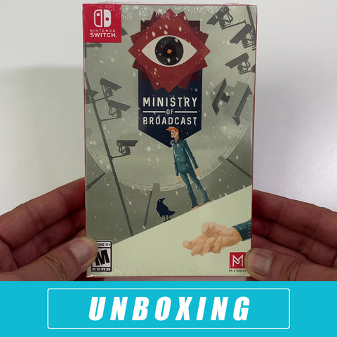 PM Studios Ministry of Broadcast Unboxing - Nintendo Switch