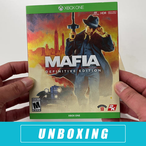 Mafia Definitive Edition Unboxed - Xbox One