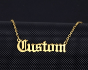 CUSTOM NAME PLATE - Shop Yasmine Bianca