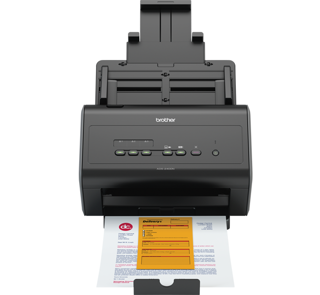 Brother ADS-2400N A4 Black scanner
