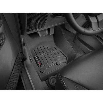 2014+ Jeep Wrangler (JK) WeatherTech DigitalFit Front Floor Liners (Black) - 445731