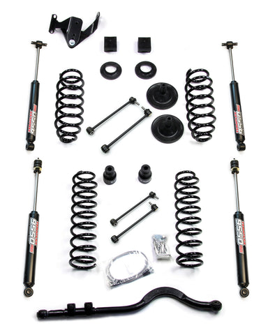 "TERAFLEX JK 4-DOOR 3"" LIFT KIT W/ 9550 SHOCKS & TRACK BAR TER1251220"