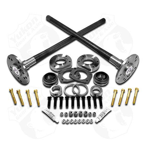 Yukon Ultimate 88 axle kit 95-02 Explorer, 4340 Chrome-Moly (Double drilled axles)