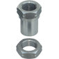"1 1/4""-12 THREADED BUNG WITH JAM NUT - LH THREAD"