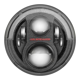 "JW Speaker 8700 Evolution J2 Series Dual Burn 7"" LED Headlights (Carbon Fiber Bezels) - 0553973"