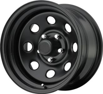 Pro Comp Series 97, 17x9 Wheel with 5 on 5 Bolt Pattern - Flat Black 97-7973F