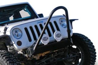 Poison Spyder BFH Front Bumper with Shackle Tabs and Comp Stinger (Bare)- 17-16-020-DC