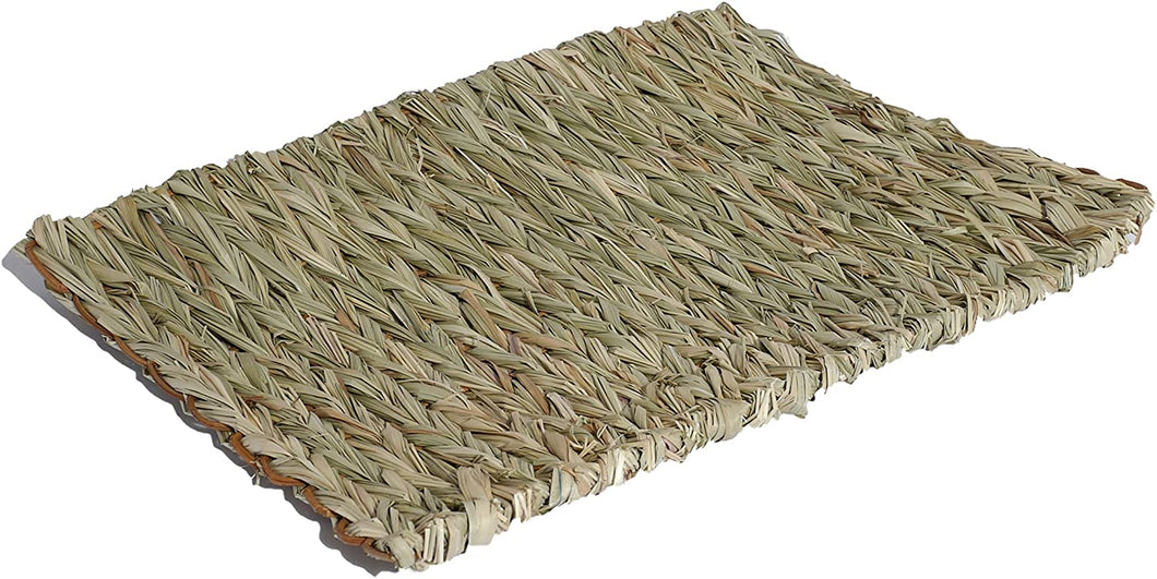 Natural Large Grass Chew Mat